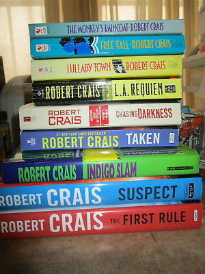 Lot Of 12 Robert Crais Pbs Sentry Voodoo River First Rule Free
