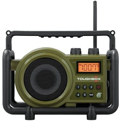 Sangean Toughbox Fm And Am And Aux Ultra-rugged Digital Rechargeable Radio SNGTB