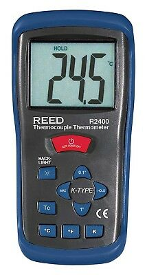 Reed R2400 Tipo k Thermoelement-Thermometer 50 hasta 1300 °C