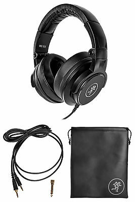 Mackie MC-150 Closed-Back Studio Monitoring or DJ Headphones w/50mm Drivers