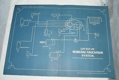 WIRING DIAGRAM VINTAGE. Layout of DAIMLER DOUBLE SIX SYSTEM ... on