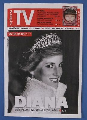 LADY DIANA SPENCER mag.FRONT cover Poland Stonehenge