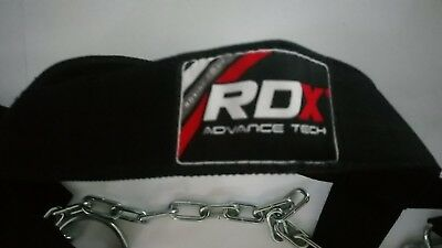 RDX Dipping Belt Body Building Weight Lifting Dip Chain Exercise Gym Training