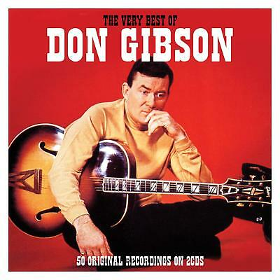 NEW SEALED 2CD Don Gibson ~ The Very Best Of / Greatest Hits. 50 Country Songs