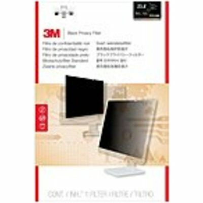 3M PF23.8W9 Privacy Filter for Widescreen Desktop LCD Monitor 23.8 Black - 23.8M