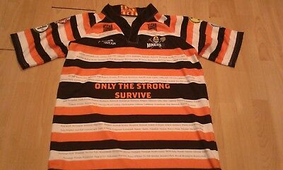 Very Rare Miners Rugby League Shirt Watson 23 Size Xl Castleford
