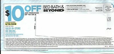 5 $10 off $30 BED BATH AND BEYOND COUPONS