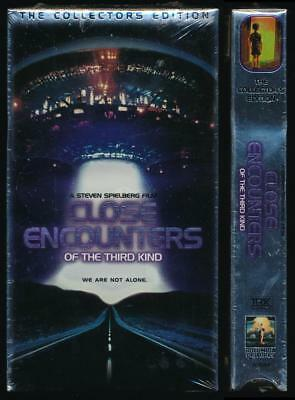 Columbia Tri Star VHS Close Encounters of the Third Kind 1977 Alien Contact Cult