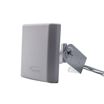 Acceltex Solutions 2.4/5GHz 4/6 DBI High Density Patch Antenna ATS-OHDP-245-46