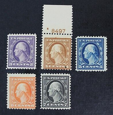 CKStamps: US Stamps Collection Scott#502 503 Mint NH OG #504 #506 #507 Mint H OG