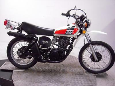 1976 Yamaha XT500C Unregistered US Import Barn Find Classic Restoration Project