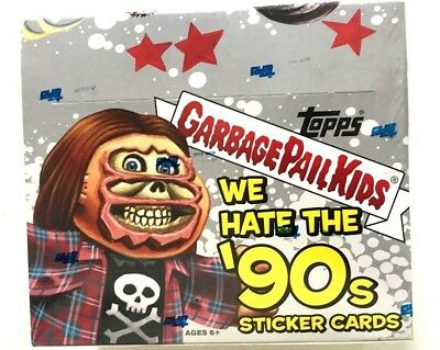 2019 TOPPS GARBAGE PAIL KIDS WE HATE THE 90s 24 COUNT BOX