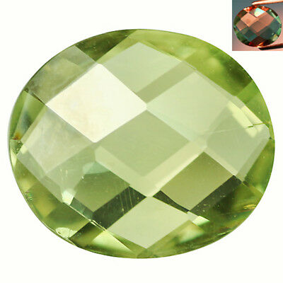 2.58Ct IF Incomparable Oval Cut 11 x 9 mm AAA Color Change Turkish Diaspore