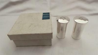 Fabulous Vintage Boxed French Silver Plate Salt & Pepper Shakers ~ By Produx