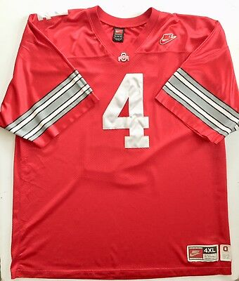 7a7d3aadc Nike Kirk Herbstreit  4 Ohio State Buckeyes 4XL Men s 1992 Throwback Jersey