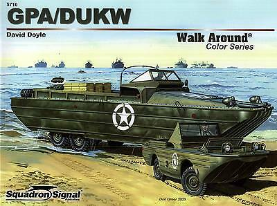 20088a/ Squadron Signal - Walk Around No 10 - GPA/DUKW - TOPP HEFT