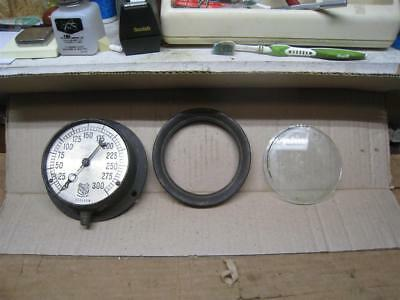 "Vintage 5"" Dial -  Ashcroft NY Steampunk Pressure Gauge 0-300   765110A"