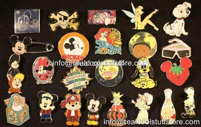 Disney Pin Lot 50 Random - No Duplicates - 100% Disney - FREE US Ship - L