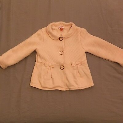 Pink Baby Girl Ted Baker Coat, Size 9-12 Months