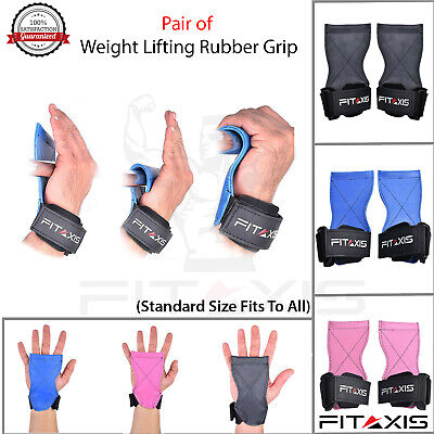 FITAXIS Weight lifting DeadLift Shoulder Pulling CrossFit Xfit Grip Strap hooks