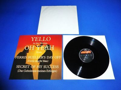 """Yello - Oh Yeah  12"""" Maxi -> Dream  Condition   Ger. Top  Press. From 1985 !!!!!"""