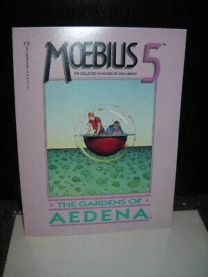 Moebius 5 The Gardens of Aedena Epic Comics GN RARE English collected fantasies