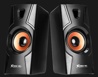 Xtrike-Me Gaming Speakers- Stereo, 2.0 Channel 6W, KB-401 Gaming Series