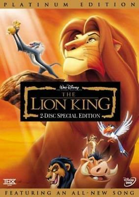 The Lion King (Two-Disc Platinum Edition) (French Version Included) [DVD] NEW!