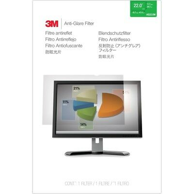 3M Anti-Glare Filter for 22 Widescreen Monitor (16:10) - For 22 LCD Monitor