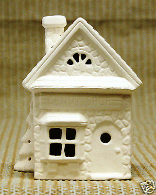 Ceramic Bisque Candy Shop with Tree Scioto Mold 523 U-Paint Ready To Paint
