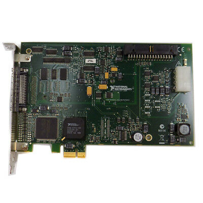 National Instruments PCIe-6321 Multifunction I/O Device Data Acquisition Card