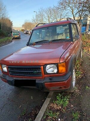 Land Rover Discovery 2 Td5 Es Auto 2.5 2001 *spares Or Repairs*