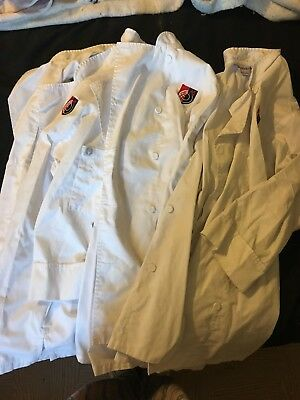 Art Institute chef jackets! Only Used A Few Times! Size Small! 3 Count.