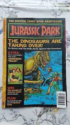 Jurassic Park - Official Comic Book Adaption - Vol 1 No 4 - 1993  Collectable