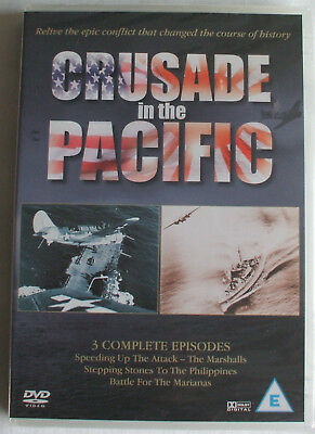 DVD: Crusade in the Pacific - 3 complete episodes - NEW & SEALED