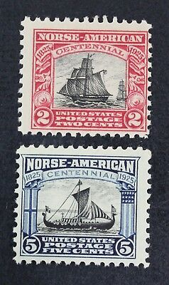 CKStamps: US Stamps Collection Scott#620 621 Mint NH OG