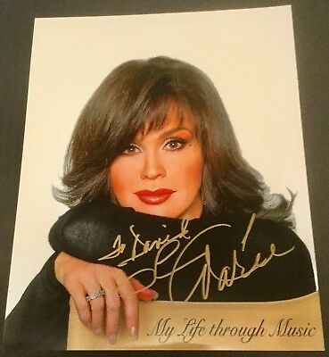 Marie Osmond Inscribed Autograph photo COA