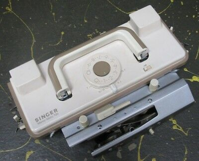 Singer knitting machine memo-matic 700 attachment parts - carriage