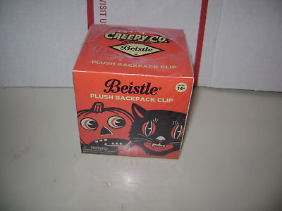 Beistle plush backpack clip ( vintage appearance ) factory sealed box Halloween