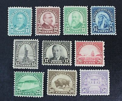 CKStamps: US Stamps Collection Scott#692-701 Mint NH OG