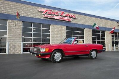 1986 Mercedes-Benz SL-Class Two Tops Ask About Free Shipping! 1986 Mercedes-Benz 560SL Two Tops 63k Original Miles Factory Air Conditioning