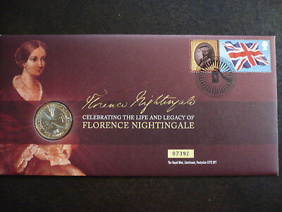 Postal History - Great Britain - PNC - Florence Nighingale - SG# 1517
