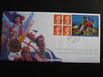 Postal History - Great Britain - PNC - Rugby World Cup - SG# 1667m
