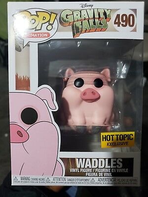 Funko Pop Animation Disney Gravity Falls Waddles Hot Topic Exclusive 490 In Hand