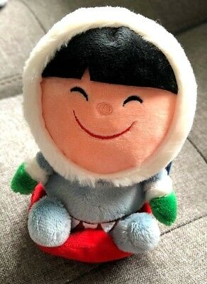 HALLMARK Frosty Friends Eskimo Zip N' Go! Plush New with Tag!