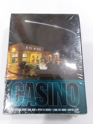 Casino Bay 101 playing cards Shooting Star promo deck of cards 2010