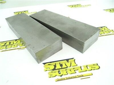 "Pair Of Precision Steel Parallels 1-1/4"" X 2-1/2"" X 8-1/8"""