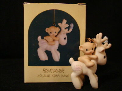Precious Moments **RARE Reindeer** CUTE-Limited Edition 1986