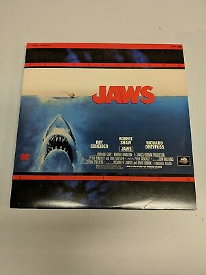 Jaws Laserdisc Richard Dreyfuss