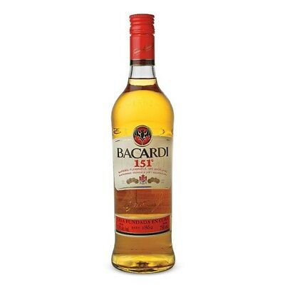 Bacardi 151 750 ml discontinued rare and collectable, full unopened :)
